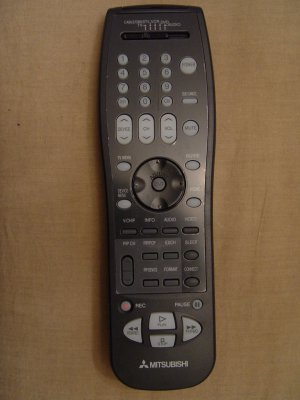 MITSUBISHI 290P123A10 REMOTE CONTROL PART # 290P123010
