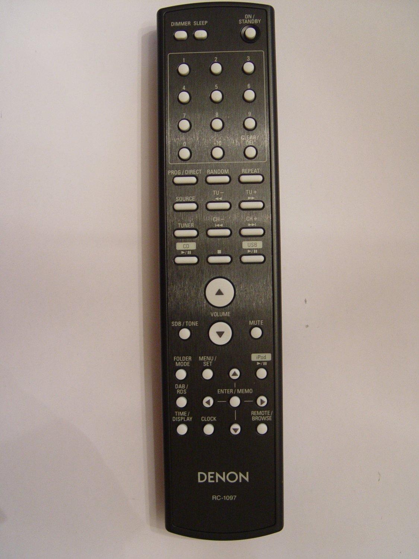 DENON RC-1097 REMOTE CONTROL PART # 943307000180D