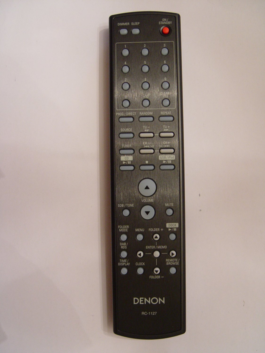 DENON RC-1127 REMOTE CONTROL PART # 943307007900D