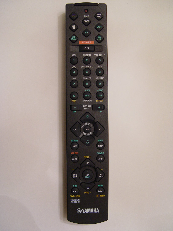 Yamaha rav206 remote control part v6940901 for Yamaha remote control app