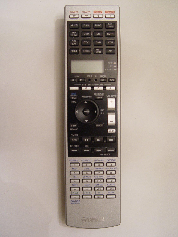 Yamaha rav380 remote control part wk481001 for Yamaha remote control app