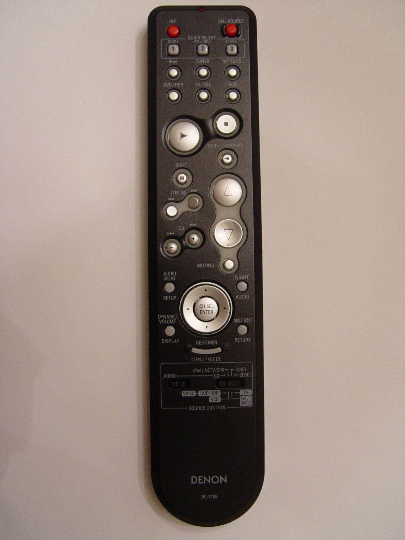 Denon RC-1105 Remote Control Part # 307010021002D