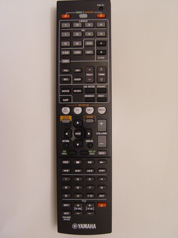 Yamaha RAV465 Remote Control Part # ZA113700