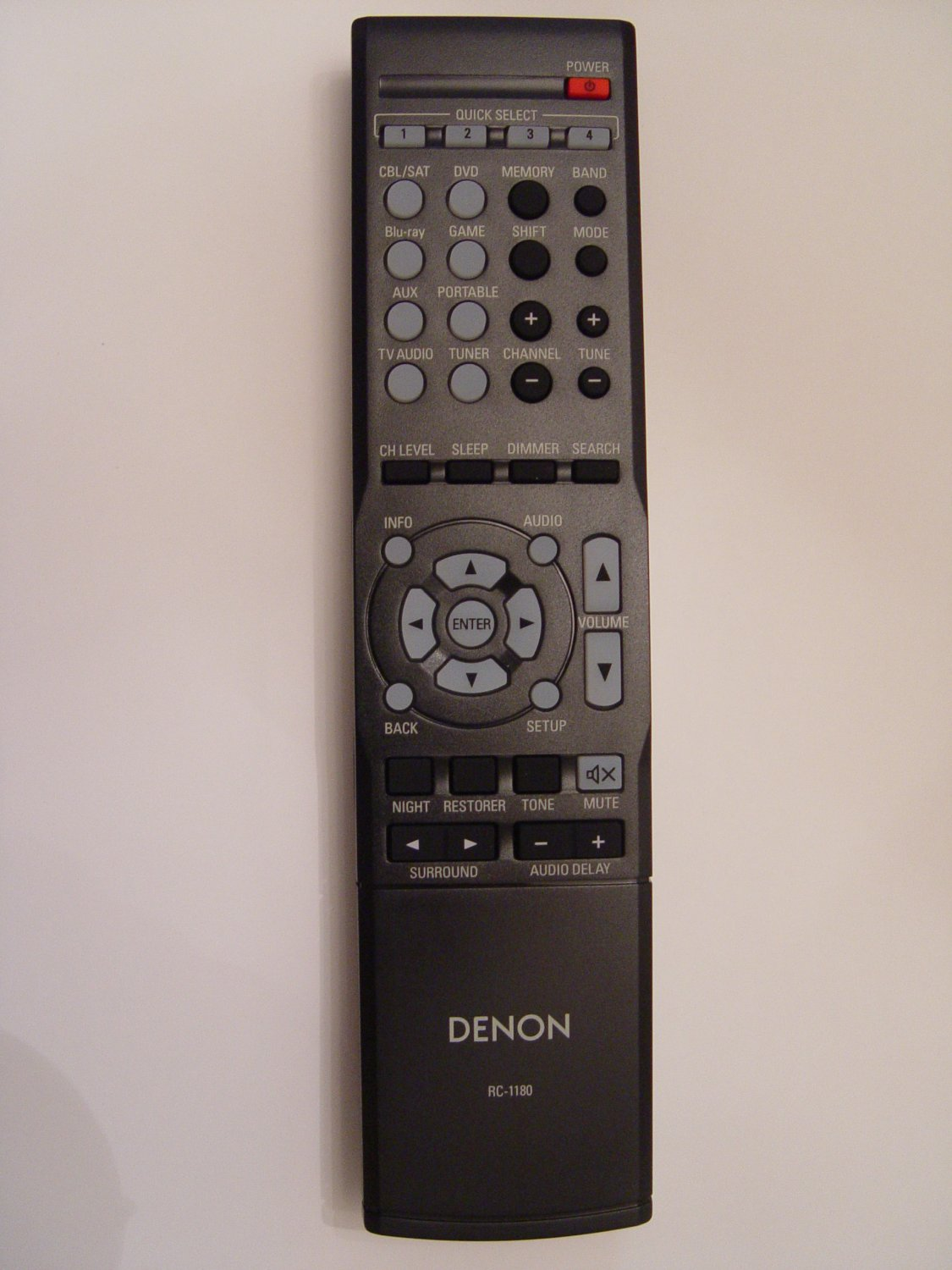 Denon RC-1180 Remote Control Part # 30701014100AD