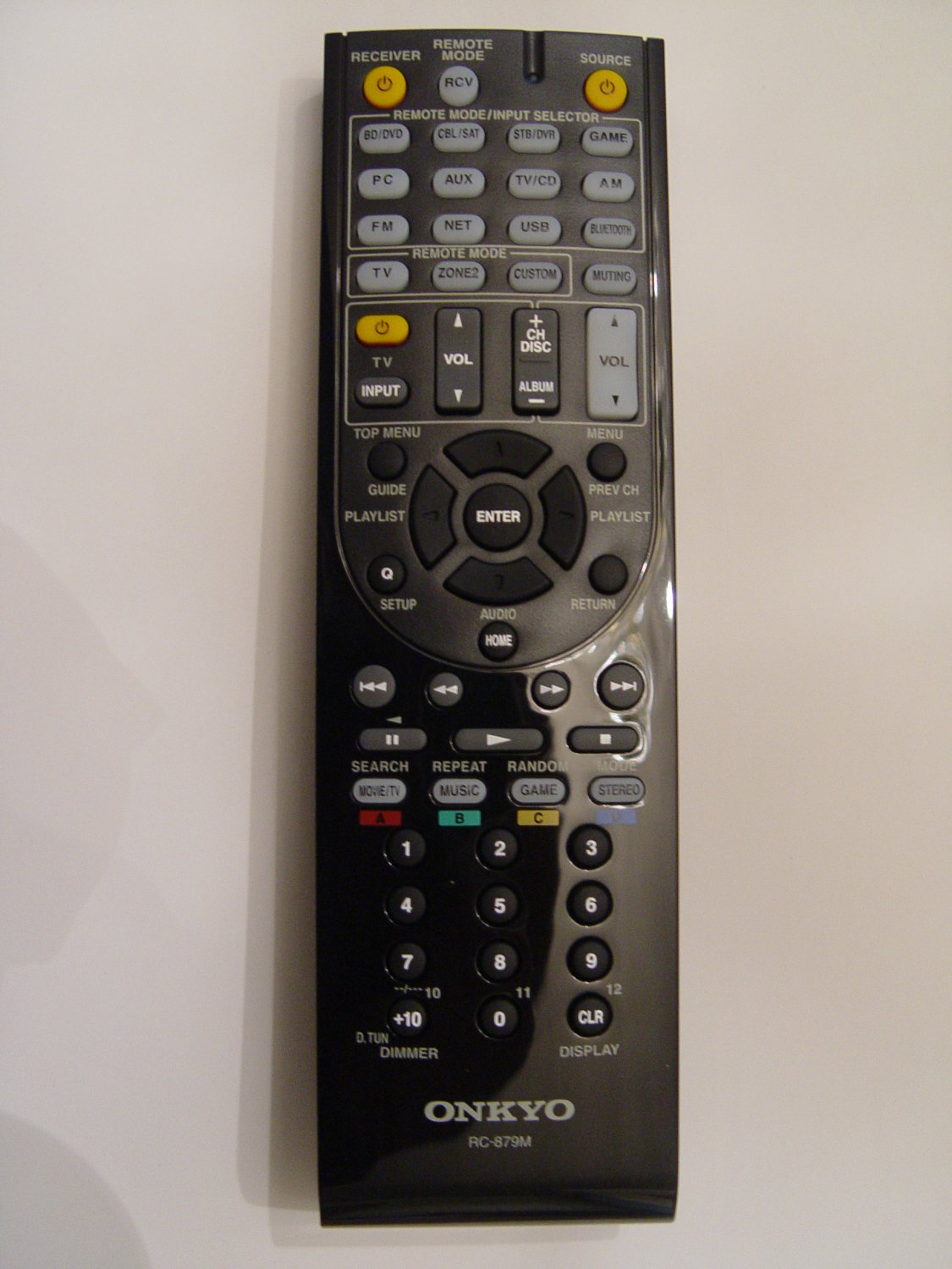 Onkyo RC-879M Remote Control Part # 24140879