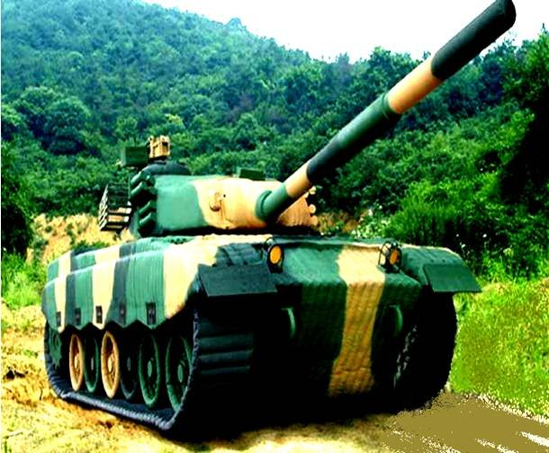 MILITARY TANK  JUNGLE WAR CAMO MILITARY # 96 SERIES