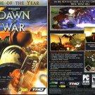 Warhammer 40,000: Dawn of War PC (3CDs) for Windows - NEW in SLEEVE