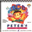 Peter's Alphabet Adv. CD (Ages 4-8) Win/Mac - NEW in SLV