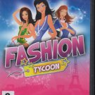 Fashion Tycoon PC CD-ROM for Windows - NEW in DVD BOX