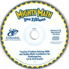 Mighty Math Zoo Zillions (Ages 5-8) CD-ROM for Win/Mac - NEW in SLV
