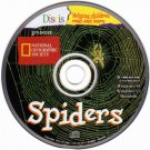Discis Books: Spiders (Ages 4-9) CD-ROM for Win/Mac - NEW CD in SLEEVE