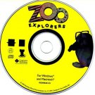 Zoo Explorers (Ages 3-6) CD-ROM for Win/Mac - NEW in SLV