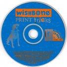 Wishbone Print Tricks (Ages 5+) CD-ROM Win/Mac - NEW in SLV