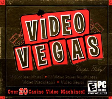 VIDEO VEGAS PC CD-ROM for Windows - NEW in Jewel Case