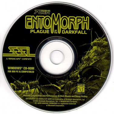 World of Aden EntoMorph: Plague of the Darkfall CD-ROM for Windows - NEW in SLV