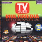 TV GUIDE MULTIMEDIA CROSSWORDS PC CD-ROM for Windows - NEW in SLEEVE