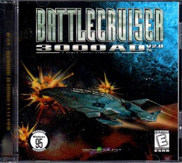 Battlecruiser 3000AD V2.0 PC CD-ROM for Windows 95/98 - NEW in JC