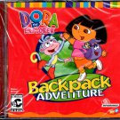Dora The Explorer Backpack Adventure (Ages 3+) CD-ROM Win/Mac - NEW in SLEEVE