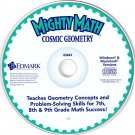 Mighty Math Cosmic Geometry (Ages 12-14) CD Win/Mac - NEW in SLV