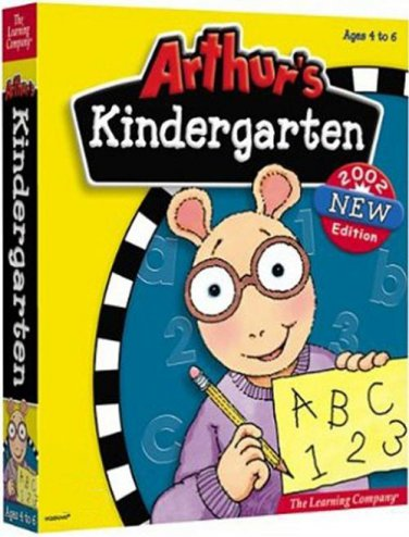 Arthur's Kindergarten (Ages 4-6) CD-ROM for Windows - NEW in SLEEVE