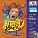 DK - I Love Math! (Ages 7-11) CD-ROM Win/Mac - NEW in SLV
