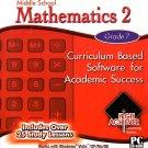 High Achiever Middle School Mathematics 2 (Grade 7) CD-ROM for Win - NEW in SLV