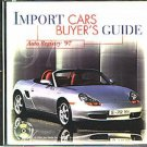 Auto Registry '97 Import Cars Buyer's Guide CD-ROM for Win/Mac - NEW in SLEEVE