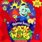 Pajama Sam's Sock Works (Ages-3-8) CD-ROM for Win/Mac - NEW in SLV