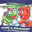 Muppets: Same & Different (Ages 3-7) CD-ROM Win/Mac - NEW in SLV