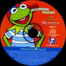Muppets: Beginning Sounds: Phonics CD (Ages 3-6) Win/Mac - NEW in SLV