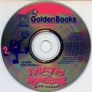 Math & Spelling with Monker (Ages 6-8) CD-ROM for Win/Mac - NEW in SLEEVE