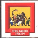 Four Footed Friends (Ages 3-6) Multilingual CD-ROM for Win/Mac - NEW in SLEEVE