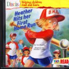 Discis: Heather Hits Her First Home Run (Ages 5+) CD-ROM Win/Mac - NEW in SLEEVE