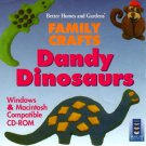 Dandy Dinosaurs (Ages 3-9) CD-ROM for Win/Mac - NEW in SLV