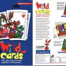 Corel Wild Cards (Ages 4-10) CD-ROM for Win/Mac - NEW in SLEEVE