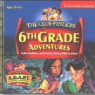 ClueFinders: 6th Grade Adventure (2CDs) Win/Mac - NEW in JC