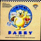 Barry the Bear (Ages 3-6 ) CD-ROM for WIN/MAC - NEW in SLV