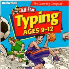 All Star Typing - Basketball (Ages 9-12) CD-ROM for Win/Mac - NEW in SLV