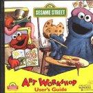 Sesame Street: Art Workshop (Ages 3-6) PC-CD for Windows - NEW in SLEEVE