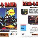 READ-A-RAMA (Ages 5-8) CD-ROM for Windows - NEW in SLV