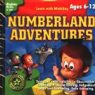 Numberland Adventures (Ages 6-12) PC-CD Windows - NEW in SLEEVE
