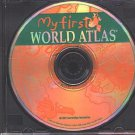 My First World Atlas (Ages 6-9) CD-ROM for DOS - NEW in SLV