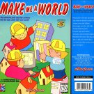 Make Me A World (Ages 6+) CD-ROM for Windows - NEW in SLV