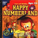 Happy Numberland (Ages 3-6) PC-CD for Windows - NEW in SLEEVE