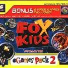 Fox Kids Games Pack 2 CD-ROM for Windows - NEW in SLEEVE