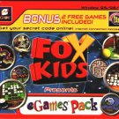 Fox Kids eGames Pack PC CD-ROM for Windows 95/98/ME - NEW in SLEEVE