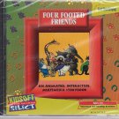 Four Footed Friends (Ages 3-6) CD-ROM for Windows - NEW in SLEEVE