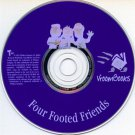 Four Footed Friends (Ages 3-6) CD-ROM for Windows - NEW in SLV