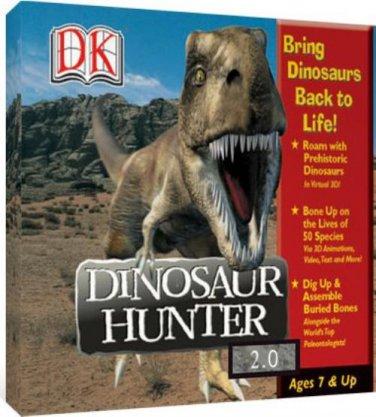 DK Dinosaur Hunter v2.0 (Ages 7+) CD for Windows - NEW in SLV