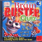 DK Brain Buster Quiz (Ages 8+) CD-ROM for Windows - NEW in SLEEVE